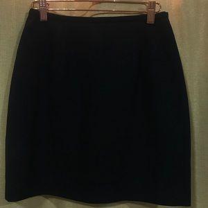 Vintage Black Ann Taylor Skirt Size 4